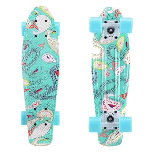 Sanview 22 Inch Mini Cruiser Skateboard for Kids